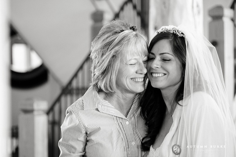 keystone ranch colorado wedding mountain bride and mom mother of the bride sweet moment