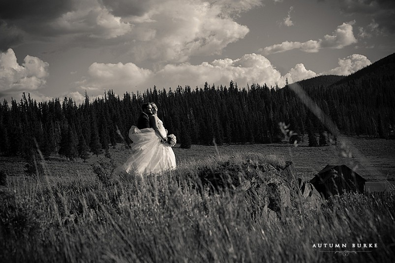 keystone ranch wedding colorado