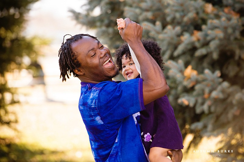 daddy and daughter dancing lifestyle family portraits denver colorado